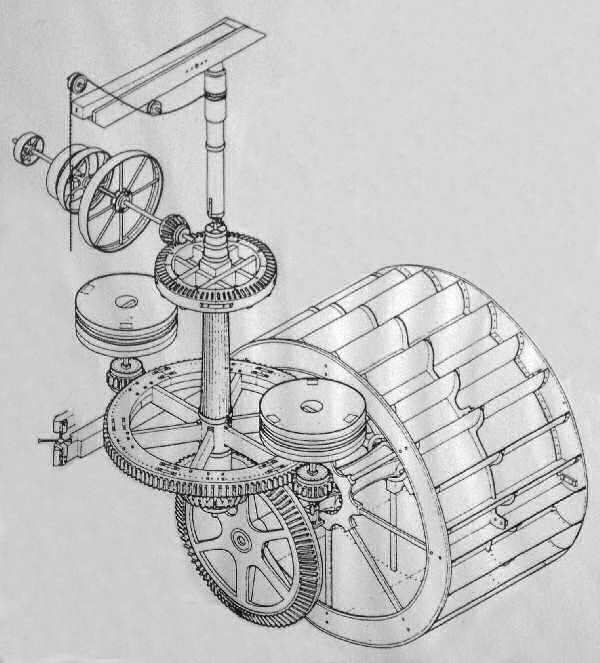 Turning water mill wheel clipart image freeuse download Norfolk Mills - Watermill Machinery image freeuse download