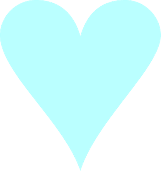 Turquoise heart clipart png royalty free download Blue Heart png royalty free download