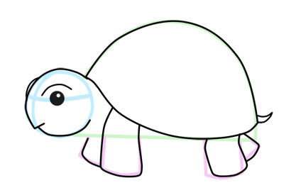 Turtle clipart easy png transparent library Free Turtle Drawing, Download Free Clip Art, Free Clip Art ... png transparent library