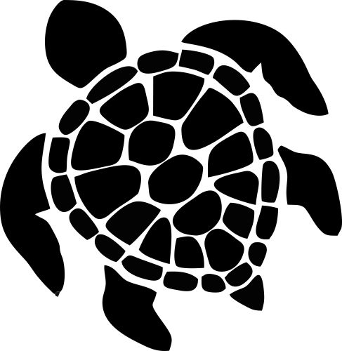 Turtle clipart silhouette image library download Free Turtle Silhouette Clip Art, Download Free Clip Art ... image library download