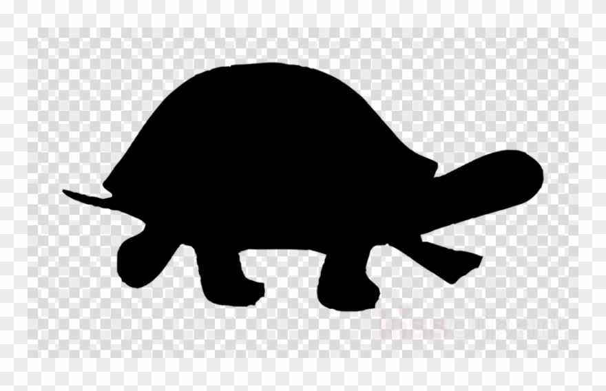 Turtle clipart silhouette image royalty free stock Download Turtle Silhouette Clipart Sea Turtle Clip - Silueta ... image royalty free stock
