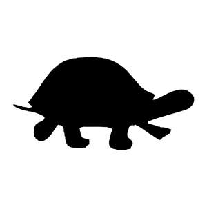 Turtle clipart silhouette graphic royalty free stock Silhouette - turtle clipart, cliparts of Silhouette - turtle ... graphic royalty free stock