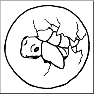 Turtle hatchling clipart banner free stock Clip Art: Sea Turtle Hatchling B&W I abcteach.com | abcteach banner free stock