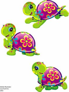 Turtle mama and baby clipart graphic transparent Mom and Baby Animal digital clipart / elephant, giraffe, lion ... graphic transparent