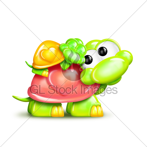 Turtle mama and baby clipart svg transparent stock Whimsical Cartoon Turtle With Baby On Back · GL Stock Images svg transparent stock