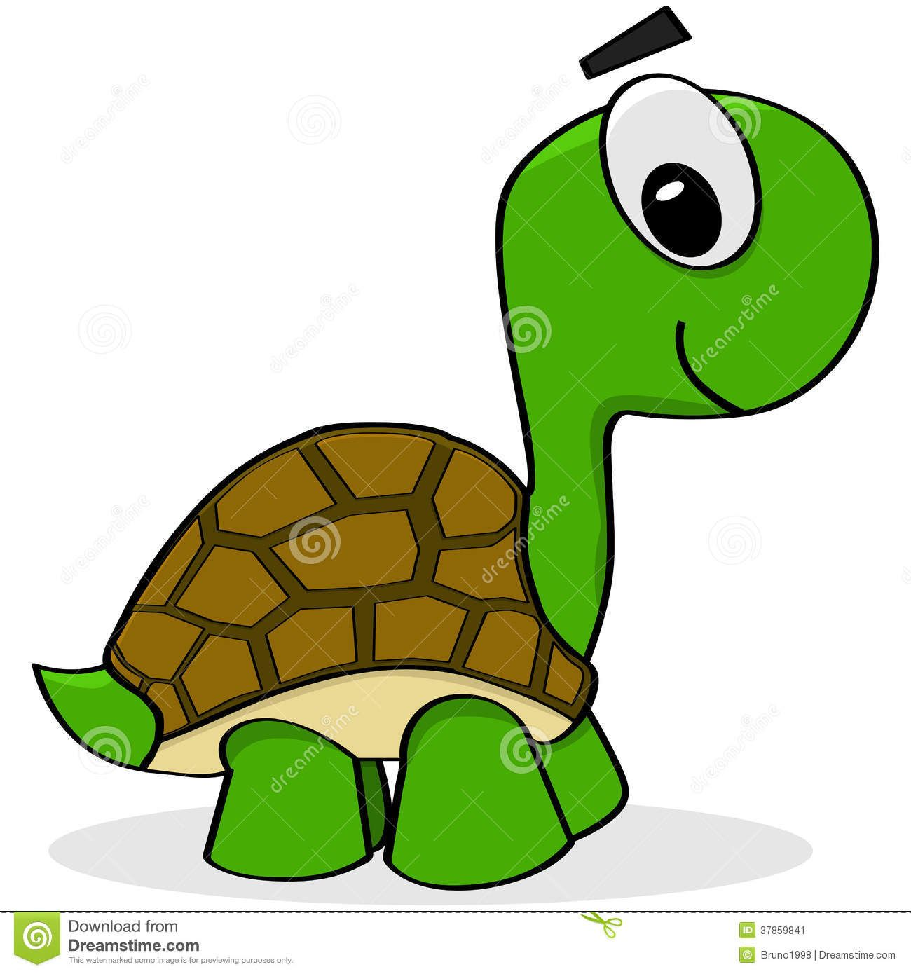 Turtle rock clipart clip stock Cartoon Turtle Stock Image - Image: 37859841 | Painting ... clip stock