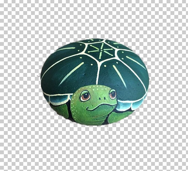 Turtle rock clipart clipart black and white Painted Turtle Rock Art Painting PNG, Clipart, Amphibian ... clipart black and white