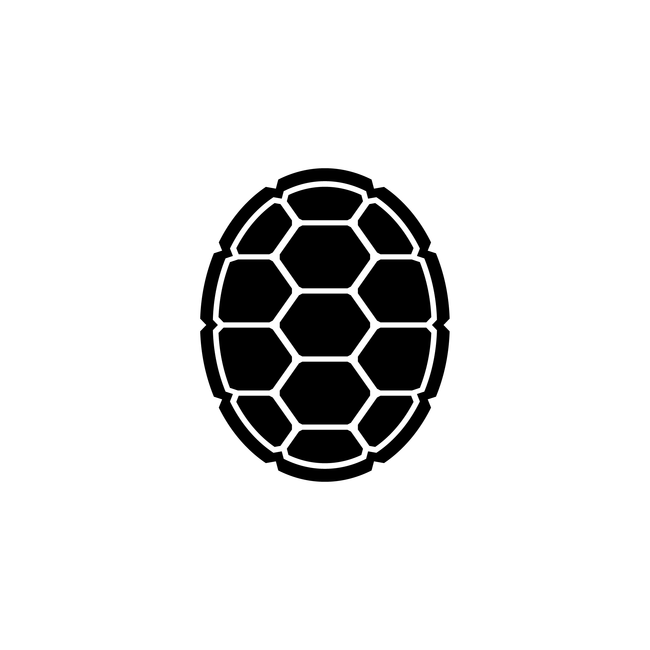 Turtle shell clipart svg