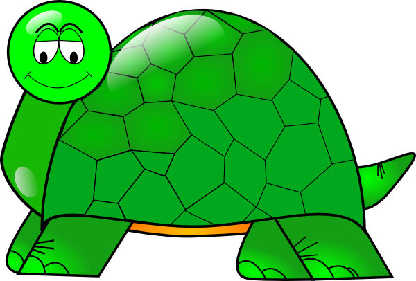 Turtle shell clipart svg clip download Turtle With Large Shell Clip Art at Clker.com - vector clip art ... clip download