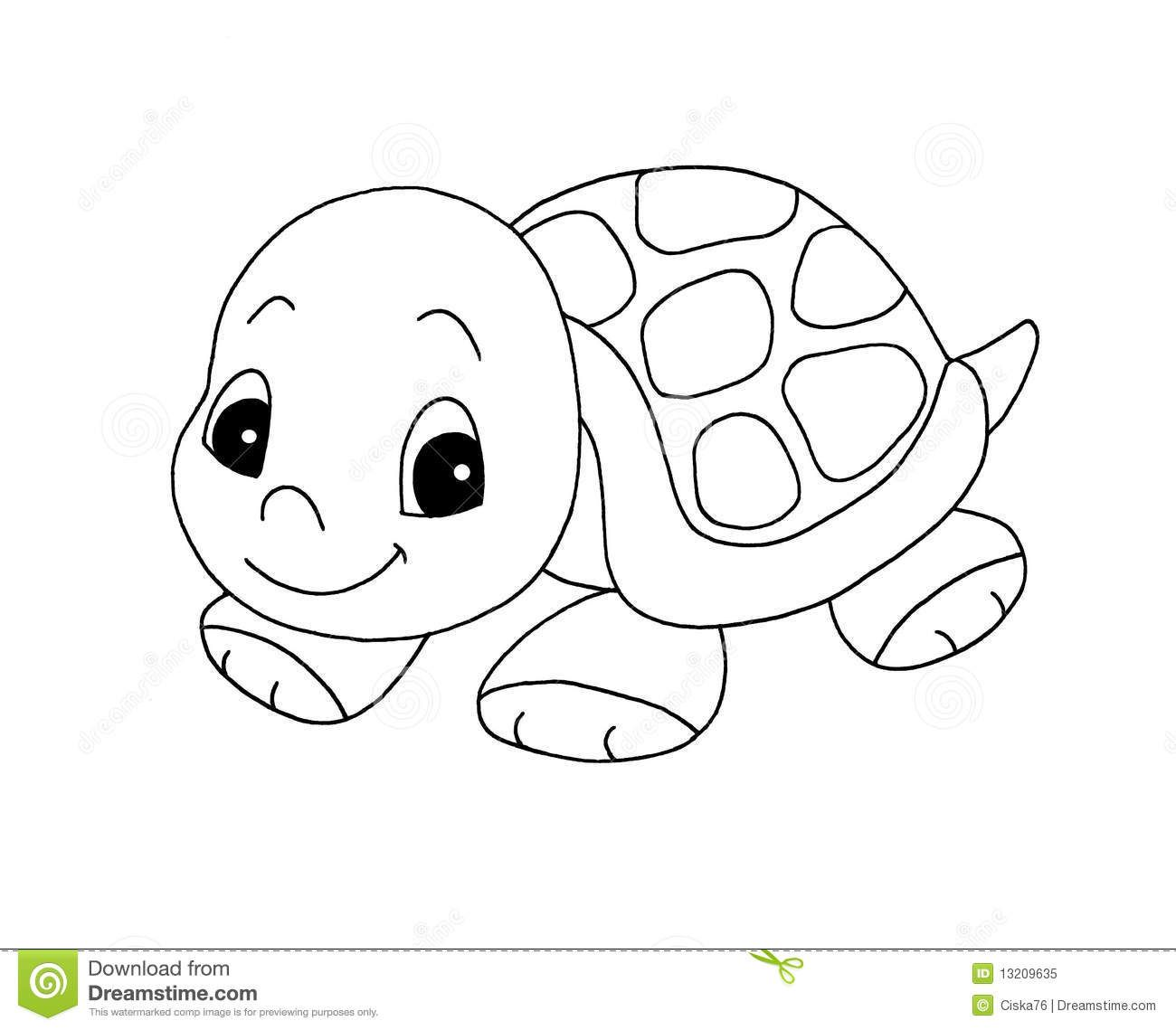 Turtle stuffed animal clipart black and white clipart transparent library Box turtles are How to Draw a Turtle of a deer in ... clipart transparent library