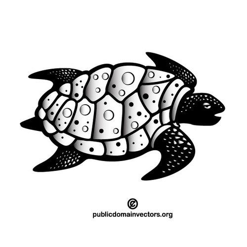 Turtle vector clipart free stock Sea turtle vector clip art | Public domain vectors free stock