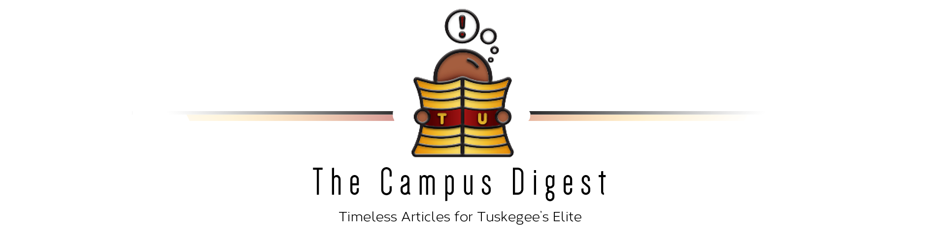 Tuskegee tiger logo black and white clipart png jpg free download Tuskegee University (TU Campus Digest) News and Classifieds jpg free download