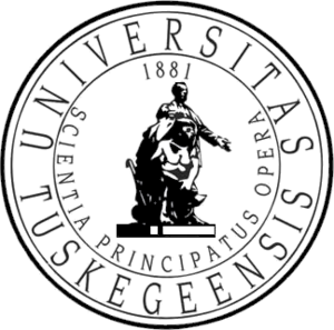 Tuskegee tiger logo black and white clipart png banner free stock Tuskegee University - Wikiwand banner free stock