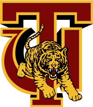 Tuskegee tiger logo black and white clipart png banner transparent stock Tuskegee Golden Tigers football - Wikipedia banner transparent stock