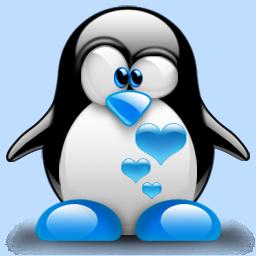 Tux penguin clipart image transparent download Tux Blue Hearts | Tux Penguin | Penguin clipart, Penguin art ... image transparent download