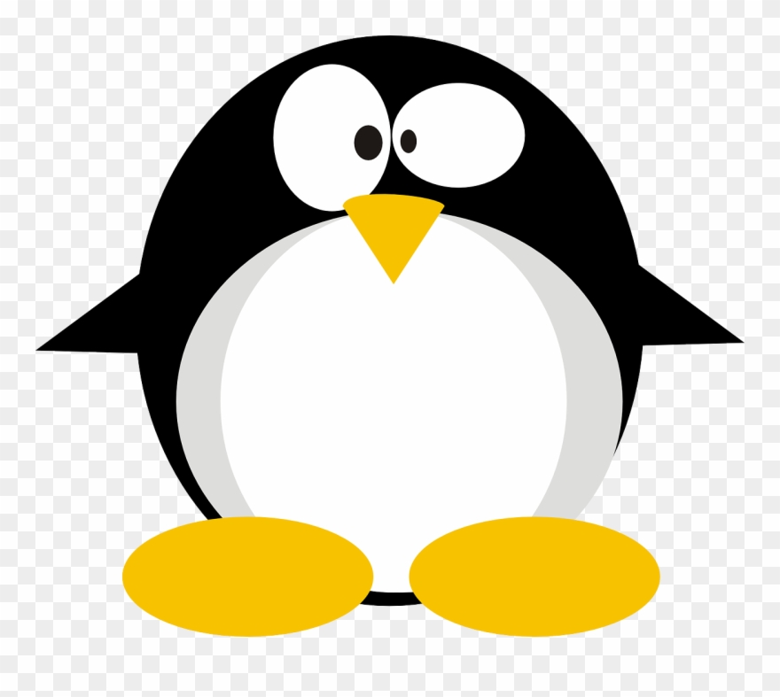 Tux penguin clipart banner royalty free Installing Linux Via Usb - Makes Penguin Confused Clipart ... banner royalty free