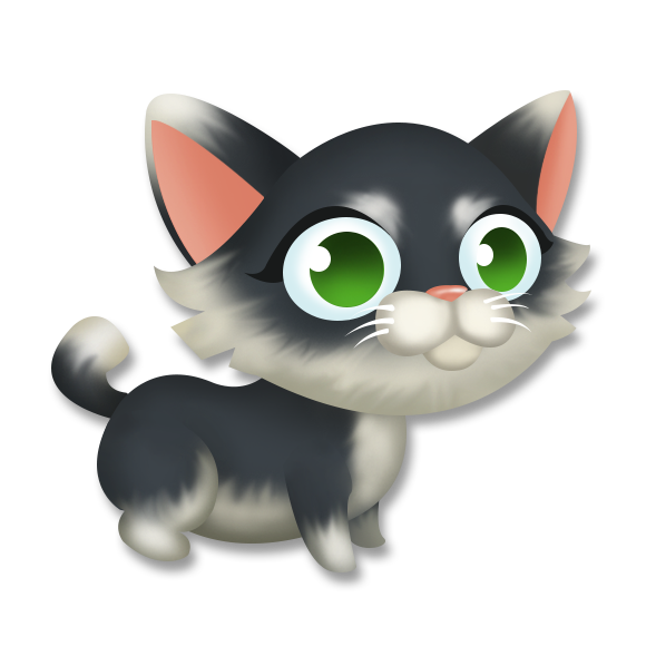 Tuxedo cat with wings clipart banner freeuse library Tuxedo Kitten | Hay Day Wiki | FANDOM powered by Wikia banner freeuse library
