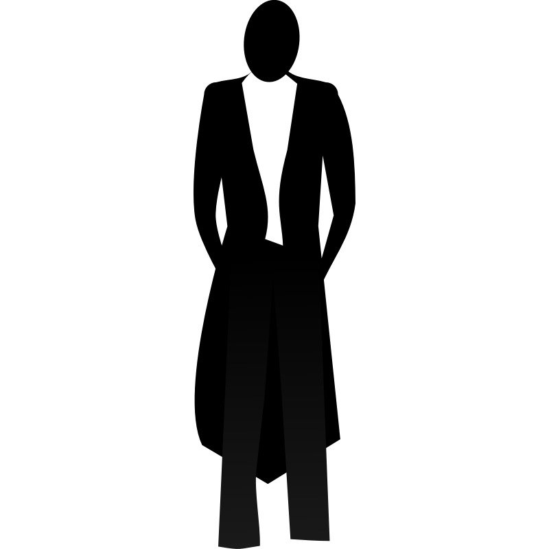Tuxedo cat clipart svg freeuse stock Tuxedo Silhouette at GetDrawings.com | Free for personal use Tuxedo ... svg freeuse stock