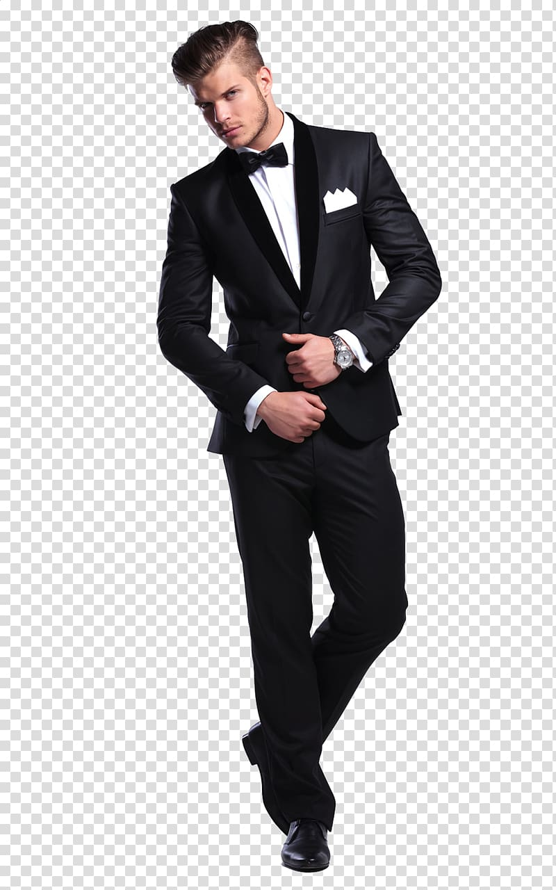 Tuxedo man clipart clip art transparent stock Formal wear Suit Tuxedo Clothing Dress, business man ... clip art transparent stock