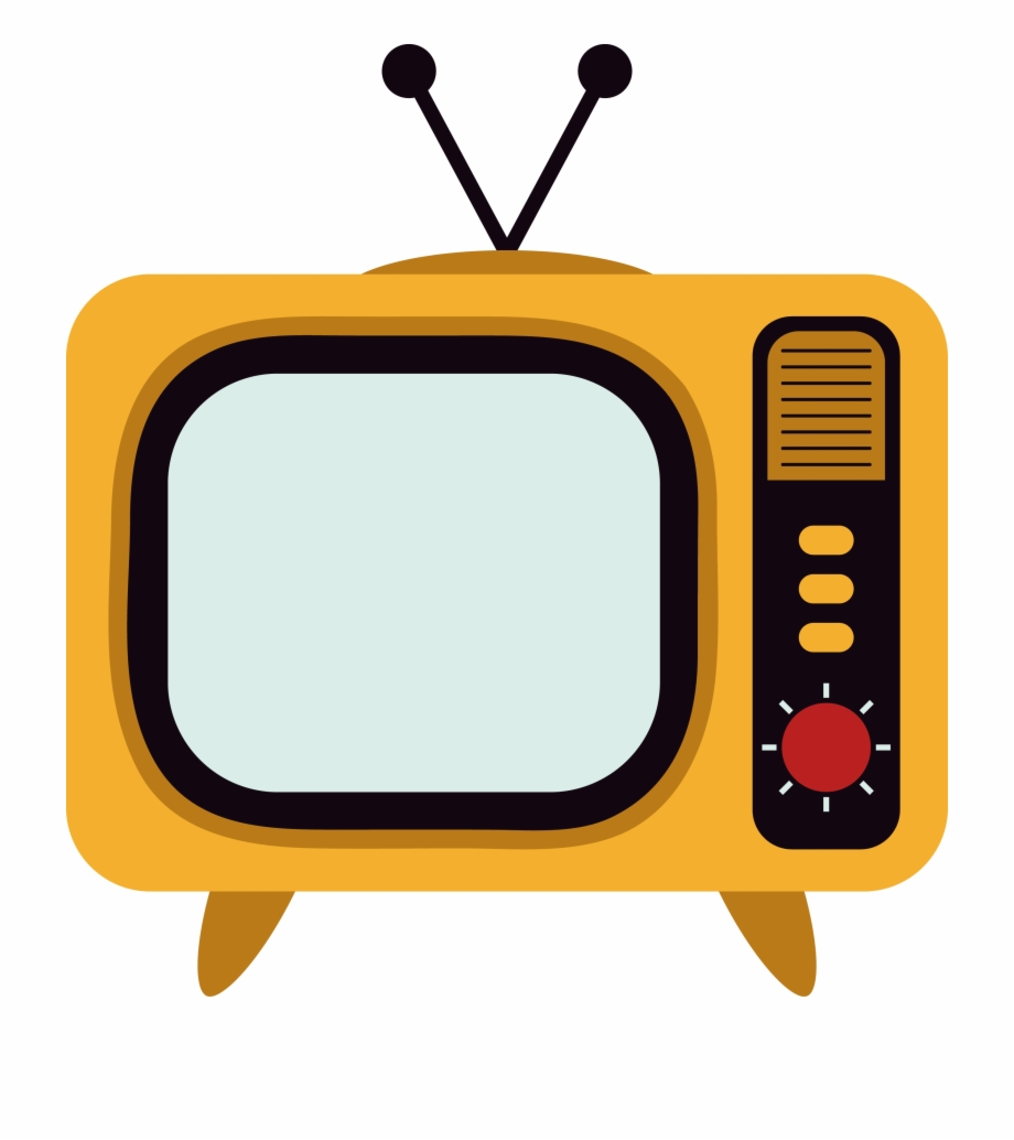 Tv channel clipart image black and white stock Television Set Television Channel - Tv Vector Png Free PNG ... image black and white stock