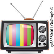 Tv clipart pictures image free Television Clip Art - Royalty Free - GoGraph image free