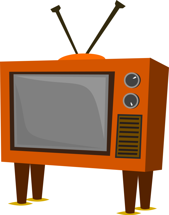 Tv clipart pictures picture library Funky Old TV Clipart | Clipart Panda - Free Clipart Images picture library