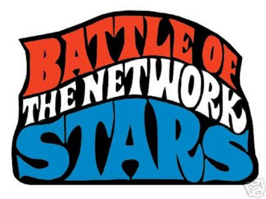 Tv stars shows clipart black and white The 80s - Battle of the Network Stars - TV stars compete ... black and white