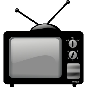 Tvs clipart png black and white Clipart Tvs | Free Images at Clker.com - vector clip art ... png black and white