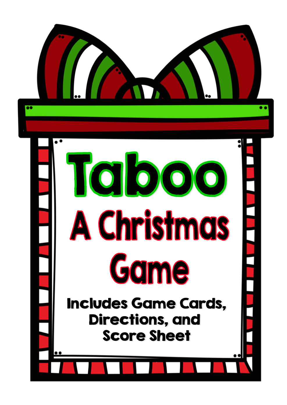 Twas the night before christmas clipart banner royalty free library Fifth Grade is Fab!: Christmas Games, Writing, Math, and More banner royalty free library