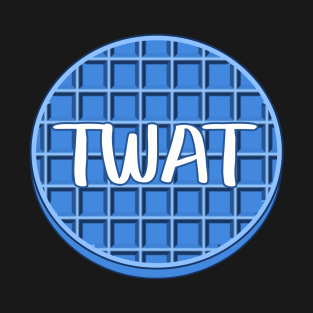Twatwaffle clipart graphic Blue Waffle T-Shirts | TeePublic graphic