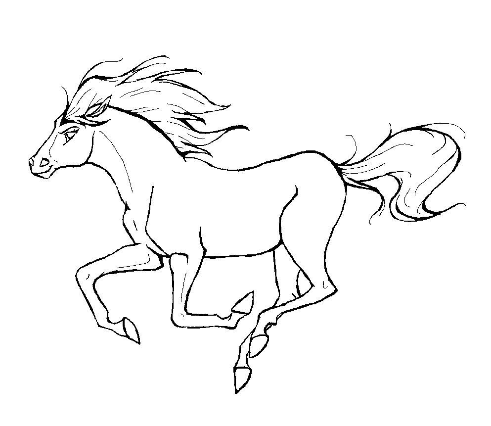 Tweakware digicel clipart jpg free Realistic horse lineart deviantart - 15 linearts for free ... jpg free