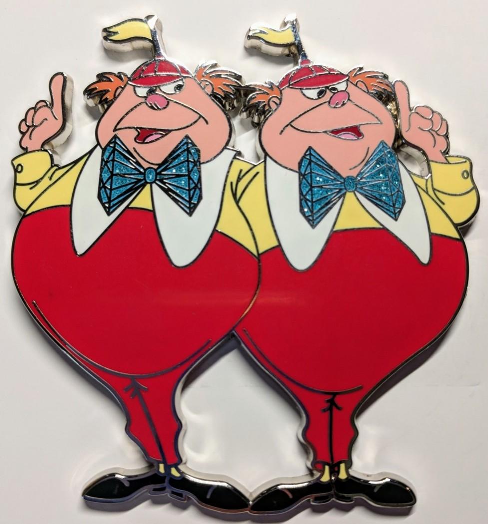 Tweedle dee clipart bow tie clip View Pin: WDI - 60th Anniversary Diamond Celebration of ... clip