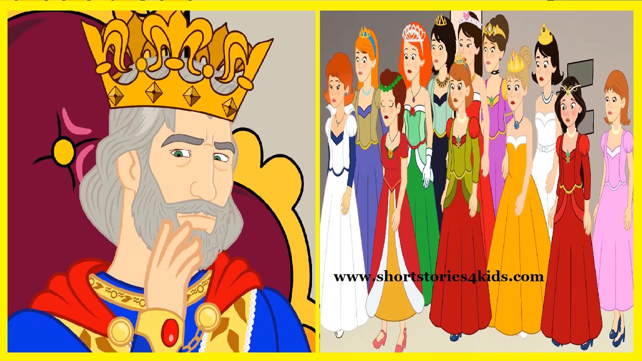 Twelve dancing princesses clipart graphic transparent stock 12 Dancing Princesses - Short Stories for Kids - Short ... graphic transparent stock