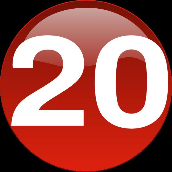 Number twenty clipart png freeuse download Number 20 Clipart | Free download best Number 20 Clipart on ... png freeuse download
