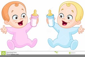 Twins images clipart banner freeuse stock Baby Boy Twins Clipart | Free Images at Clker.com - vector ... banner freeuse stock