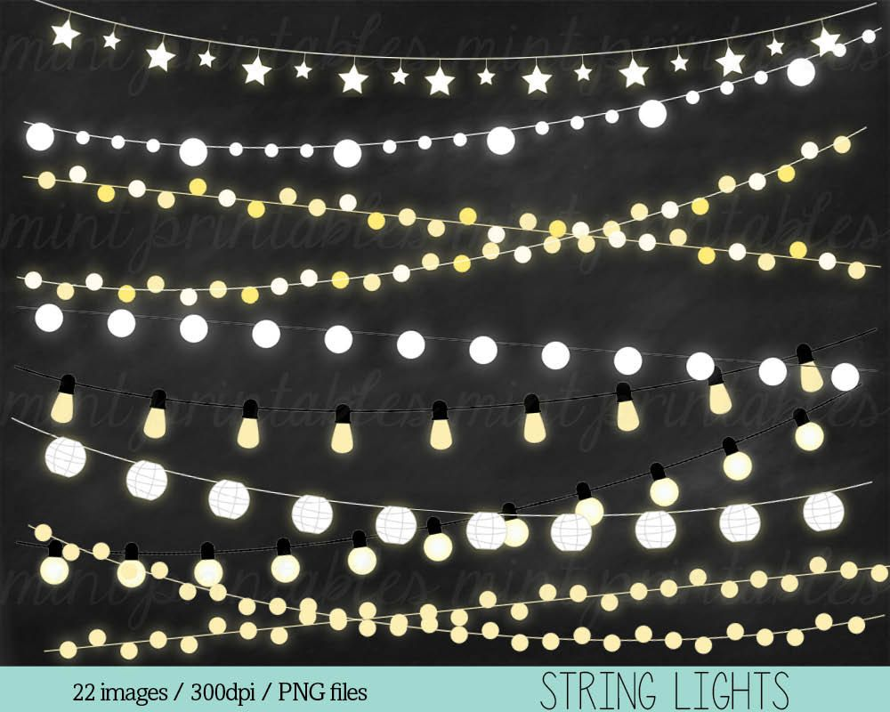 Twinkle lights clipart image freeuse stock Clipart Fairy Lights Clipart Clip Art String Lights | String ... image freeuse stock