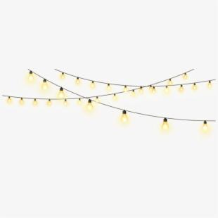 Twinkle lights clipart banner transparent Pull Star String Creative Lights Lighting Clipart - Gold ... banner transparent