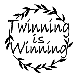 Twinning clipart banner black and white download This is Twinning banner black and white download
