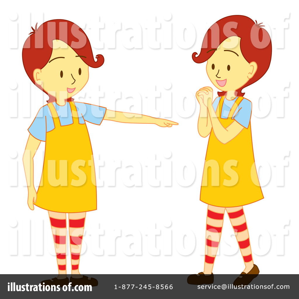 Twins clipart images vector free stock Twins Clipart #89421 - Illustration by Cherie Reve vector free stock