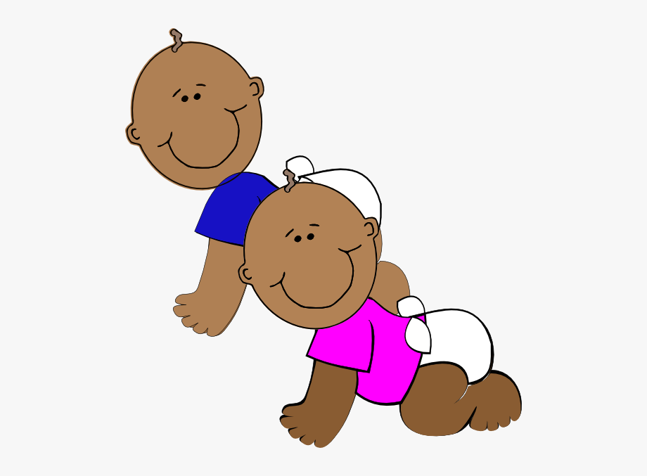 Twins images clipart clipart black and white library African-american Twins Svg Clip Arts 564 X 597 Px - African ... clipart black and white library