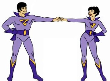 Twins superheroes clipart freeuse download Wonder Twins - Wikipedia freeuse download