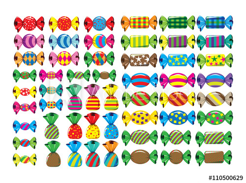 Twist candy wrap clipart image free library Twist Wrap Candy illustration - Buy this stock vector and ... image free library
