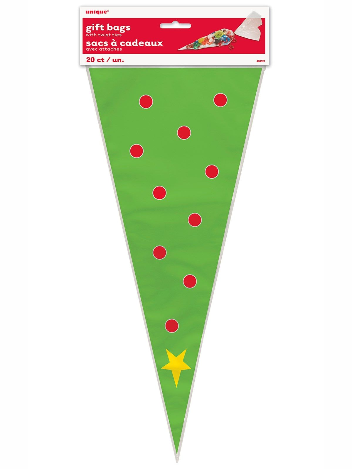 Twisted christmas balloon clipart vector royalty free download Christmas Tree Cone Cello Sweet Bags 20pk | TFP Christmas ... vector royalty free download