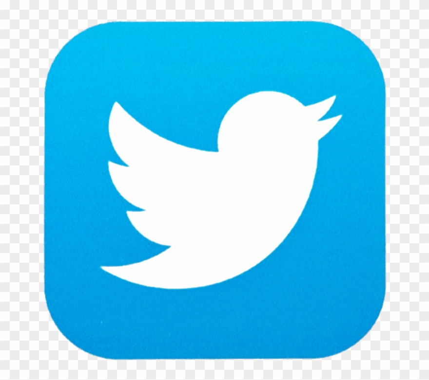 Twitter app clipart library Follow Us On - Twitter App Logo Png Transparent Background ... library