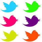 Twitter bird clipart vector transparent library Twitter clipart bird - ClipartFest vector transparent library