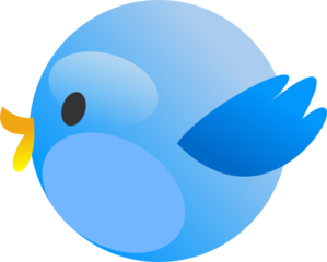 Twitter bird clipart free vector freeuse Cutie Twitter Bird Clip Art at Clker.com - vector clip art ... vector freeuse