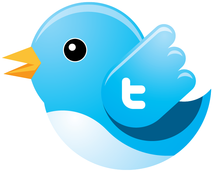 Twitter clipart bird clip black and white stock Free PDF Download: Twitter Tiny Blue Bird (Dead or Alive) Vector ... clip black and white stock