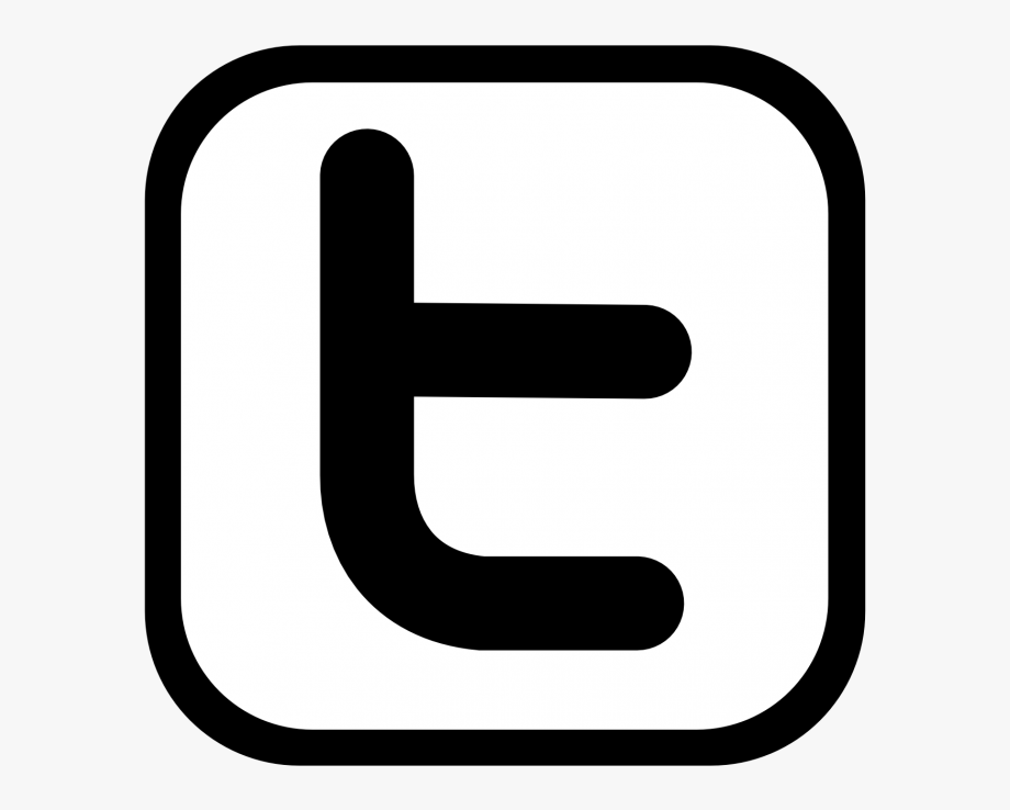 Twitter clipart black and white graphic library Twitter Png White Images Logo #2577302 - Free Cliparts on ... graphic library