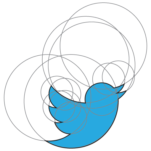 Twitter clipart circle
