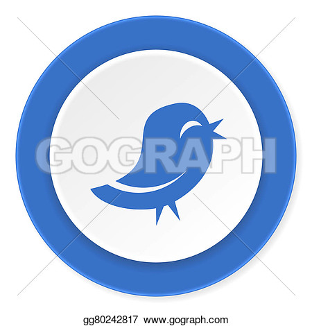 Twitter clipart circle clip transparent stock Twitter circle clipart - ClipartFest clip transparent stock